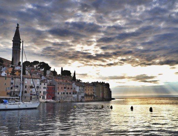 Rovinj in the Mediterranean