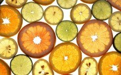 citrus fruit slices photographed by Scott Bauer, USDA