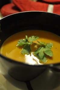butternut squash soup image by sid via flickr