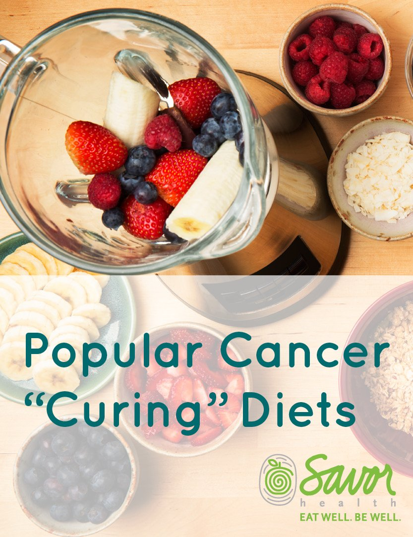 popular cancer curing diets guide