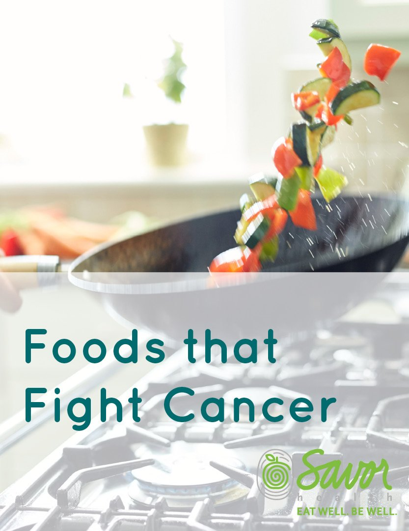 foods that fight cancer and alleviate treatment side effects