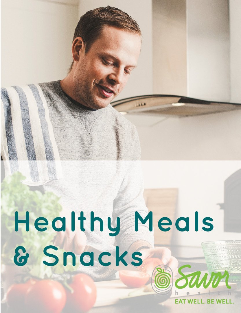 healthy meals and snacks for cancer patients and survivors