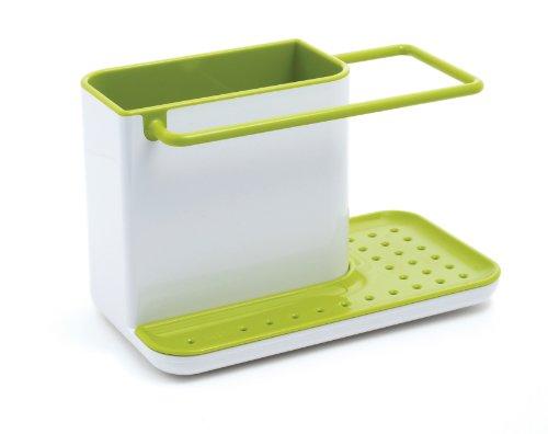 Kitchen Sink Sponge Holder joseph joseph sink caddy, kitchen soap and sponge holder, white