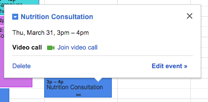 how to join a video call in google calendar