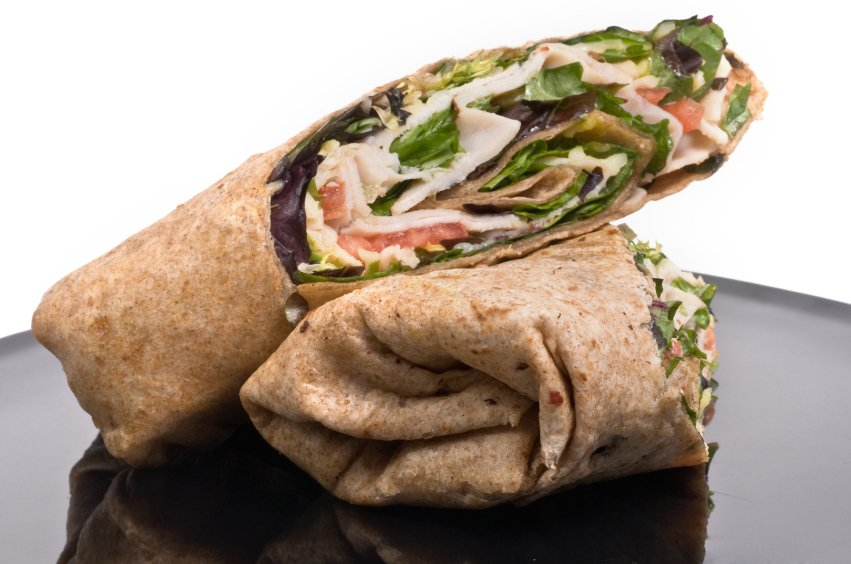 Citrus Turkey Wrap