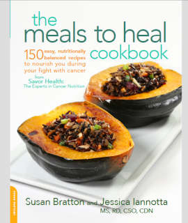 savor health cancer cookbook
