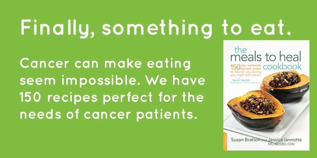 something cancer patients can actually eat