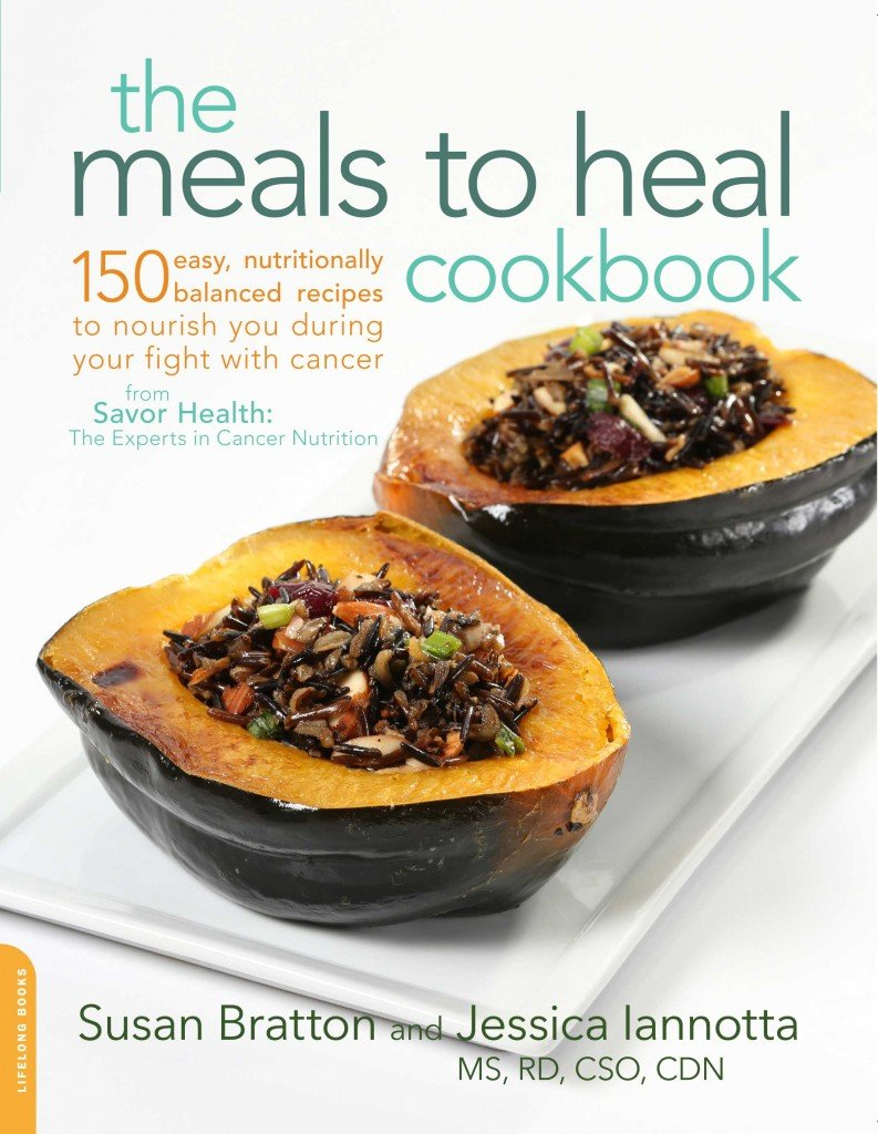 cover of the meals to heal cookbook