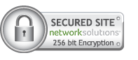 SSL seal from Network Solutions