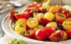 Lycopene rich tomato salad
