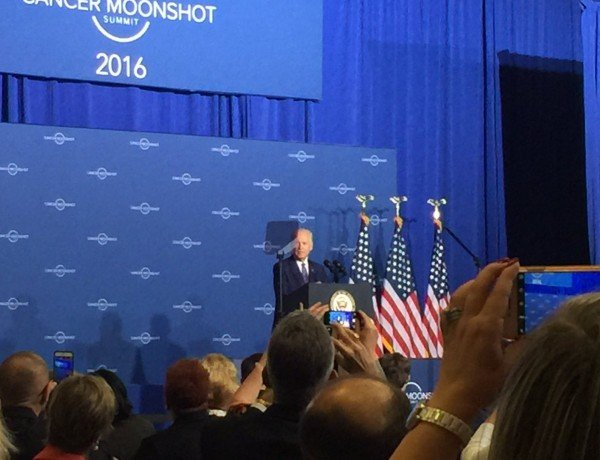 vp joe biden at the cancer moonshot summit